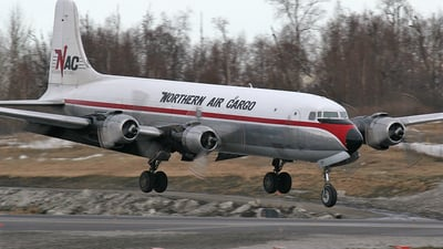 N2907F - Douglas DC-6A Liftmaster - Northern Air Cargo (NAC)