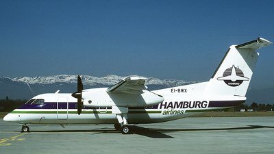 EI-BWX - Bombardier Dash 8-102 - Hamburg Airlines