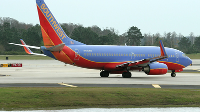N406WN - Boeing 737-7H4 - Southwest Airlines