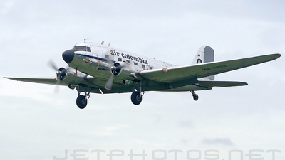 HK-3293 - Douglas DC-3 - Air Colombia
