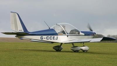G-CCEJ - Evektor EV-97 Eurostar - Private