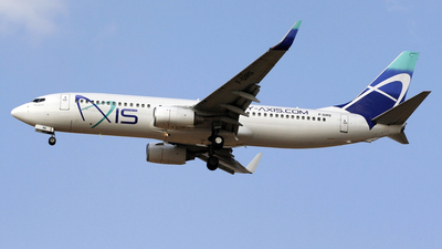 F-GIRS - Boeing 737-86N - Axis Airways