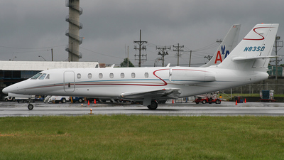 N83SD - Cessna 680 Citation Sovereign - Private