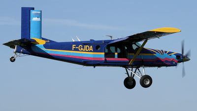 F-GJDA - Pilatus PC-6/B2-H2 Turbo Porter - Private