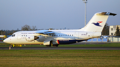 OY-RCA - British Aerospace BAe 146-200A - Atlantic Airways