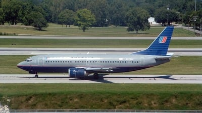 N378UA - Boeing 737-322 - United Shuttle