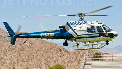 N108HP - Eurocopter AS 350B3 Ecureuil - United States - California Highway Patrol (CHP)