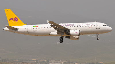 TS-IMH - Airbus A320-211 - Mauritania Airways