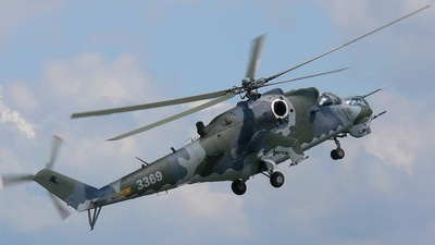 3369 - Mil Mi-35 Hind - Czech Republic - Air Force
