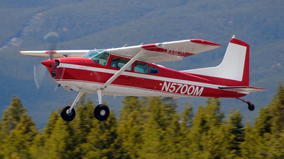 N5700M - Cessna 185D Skywagon - Private