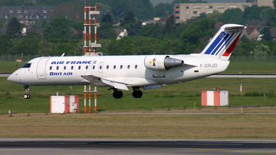F-GRJD - Bombardier CRJ-100ER - Air France (Brit Air)