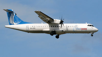 OH-ATG - ATR 72-212A(500) - Finncomm Airlines
