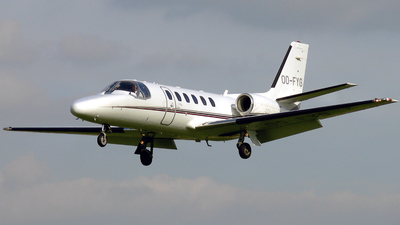 OO-FYG - Cessna 550B Citation Bravo - Flying Service