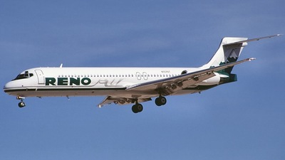 N1074T - McDonnell Douglas MD-87 - Reno Air