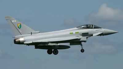 ZJ923 - Eurofighter Typhoon F.2 - United Kingdom - Royal Air Force (RAF)