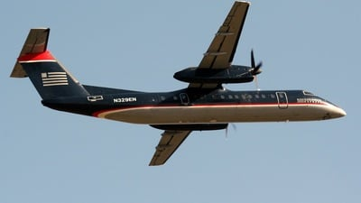 N329EN - Bombardier Dash 8-Q314 - US Airways Express (Piedmont Airlines)