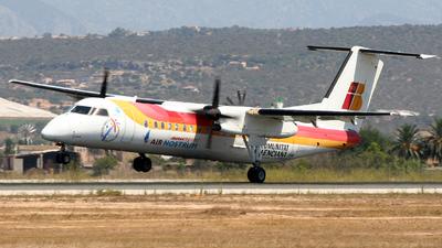 EC-ICA - Bombardier Dash 8-Q315 - Iberia Regional (Air Nostrum)