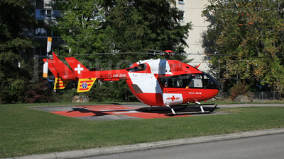 HB-ZRB - Eurocopter EC 145 - REGA - Swiss Air Ambulance