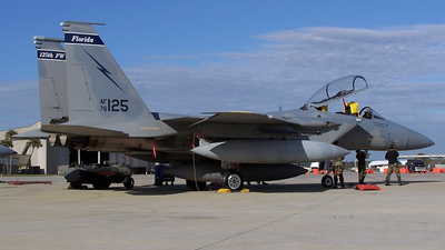 76-0125 - McDonnell Douglas F-15B Eagle - United States - US Air Force (USAF)