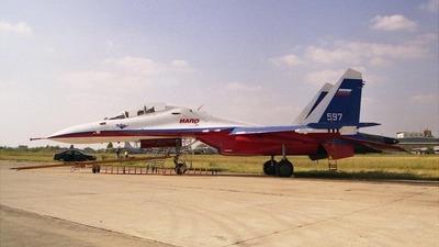 597 - Su-30 - Gromov Flight Research Institute
