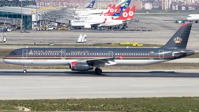 JY-AYH - Airbus A321-231 - Royal Jordanian