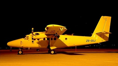 ZS-OUJ - De Havilland Canada DHC-6-300 Twin Otter - Solenta Aviation