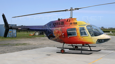 VH-YAM - Bell 206B JetRanger III - Private