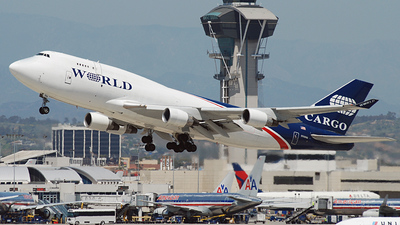 N740WA - Boeing 747-4H6(BDSF) - World Airways Cargo