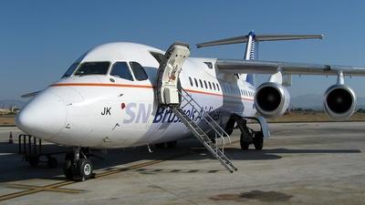 OO-DJK - British Aerospace Avro RJ85 - SN Brussels Airlines