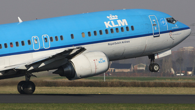 PH-BPB - Boeing 737-4Y0 - KLM Royal Dutch Airlines