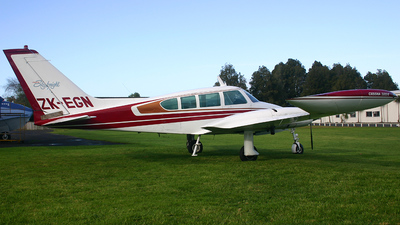 ZK-EGN - Cessna 320E Skyknight - Private