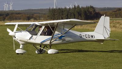 G-CDWI - Ikarus C-42 FB80 - Scottish Flying Club