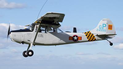 G-PDOG - Cessna O-1 Bird Dog - Private