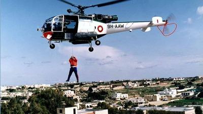 9H-AAW - Aérospatiale SA 316B Alouette III - Malta - Armed Forces