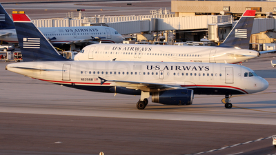N839AW - Airbus A319-132 - US Airways