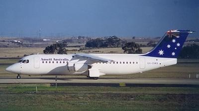VH-EWS - British Aerospace BAe 146-300 - Ansett Australia