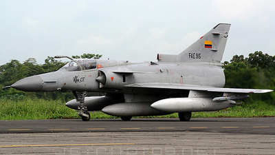 FAE915 - IAI Kfir C2 - Ecuador - Air Force