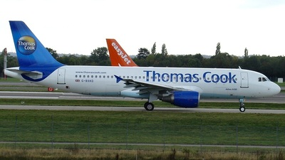 G-BXKD - Airbus A320-214 - Thomas Cook Airlines