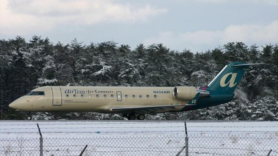 N434AW - Bombardier CRJ-200LR - airTran Jet Connect (Air Wisconsin)