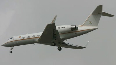 5X-UEF - Gulfstream G-IV(SP) - Uganda - Government