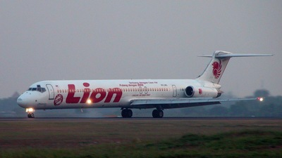 PK-LMG - McDonnell Douglas MD-82 - Lion Air