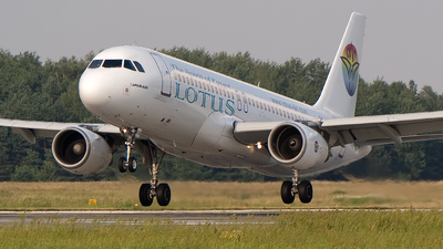 SU-LBJ - Airbus A320-214 - Lotus Air