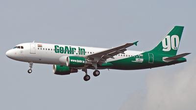 VT-WAH - Airbus A320-214 - Go Air