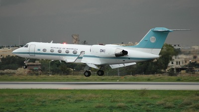 OK1 - Gulfstream G-IV - Botswana - Government