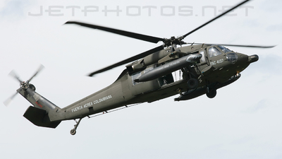 FAC4137 - Sikorsky MH-60L Ángel - Colombia - Air Force