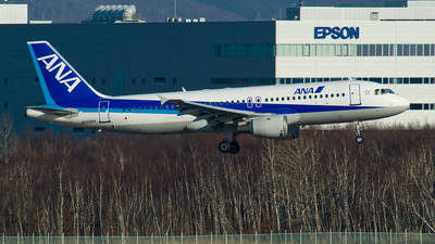 JA8386 - Airbus A320-211 - All Nippon Airways (ANA)