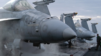 404 - McDonnell Douglas F/A-18 Hornet - United States - US Navy (USN)