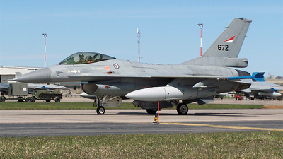 672 - General Dynamics F-16AM Fighting Falcon - Norway - Air Force