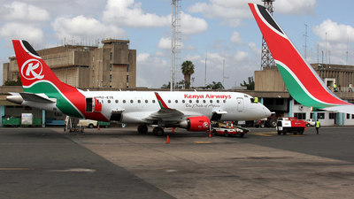 5Y-KYK - Embraer 170-100LR - Kenya Airways