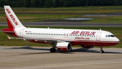 D-ABDG - Airbus A320-214 - Air Berlin